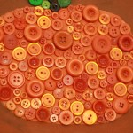 fall pumpkin wall art , autumn colors, harvest art
