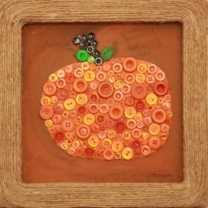 PUMPKIN WALL ART BY NIKI MEINERS