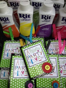 Mini Notebook party favors