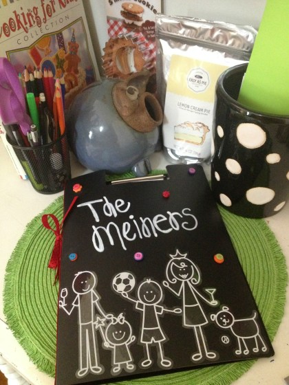 Me and My Peeps Family Journal, Babysitter folder, Niki Meiners