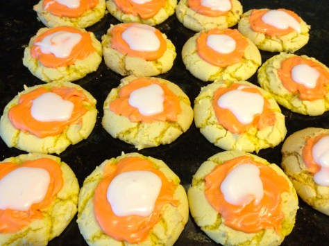 candy corn cookies for autumn