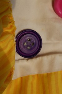 buttons, tent tutorial, velcro