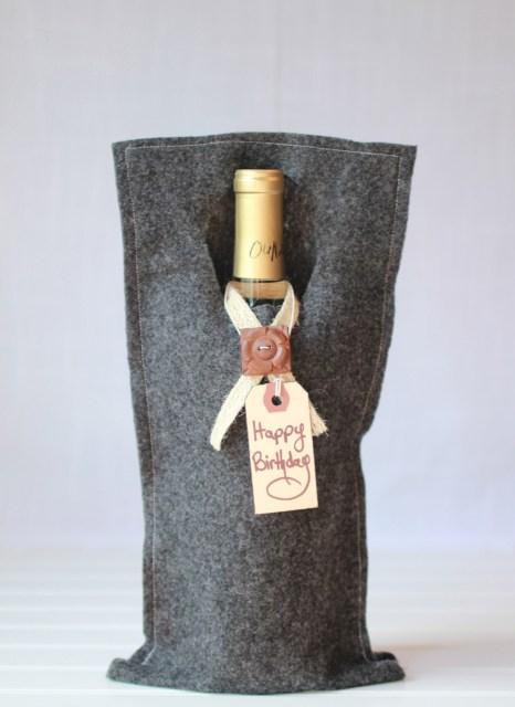 Wine bag gift tote