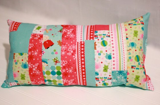 Handmade jelly roll pillow noodle pillow