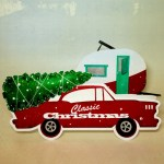 Christmas Cards, Glamping, Classic Cars