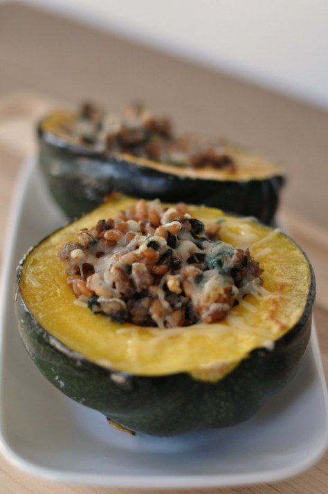 02 - Just Us Four - Stuffed Acorn Squash