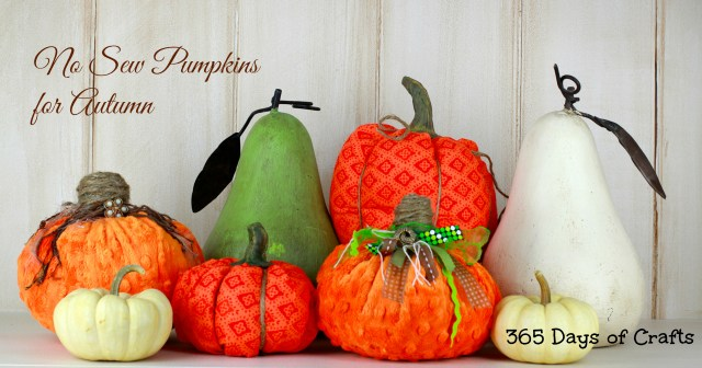 Minky fabric Pumpkins no sew collection