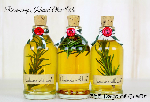 Rosemary Infused olive Oil handmade gift