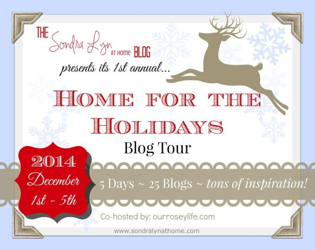 christmas home tour, home for the holidays,