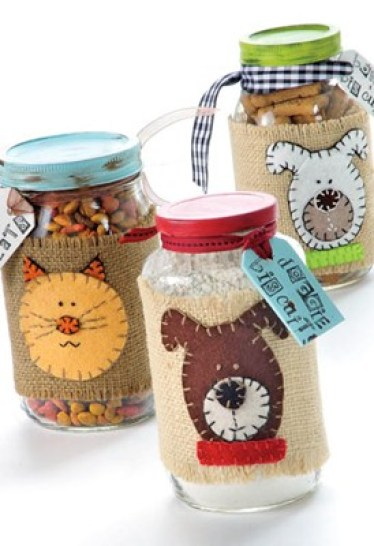 handmade gifts for pets Dog & Cat Treat Mix Jars Dog & Cat Treat Mix Jars 2