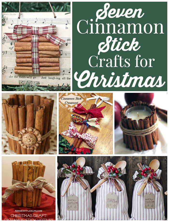 cinnamon sticks are easily found in the craft store and even some grocery stores have them too just be sure to stock up because you will want to make all
