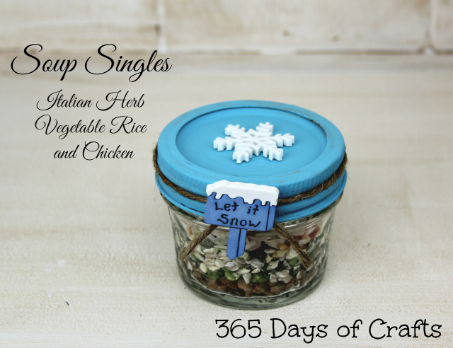 Soup Singles - Italian HerbGifts in a jar