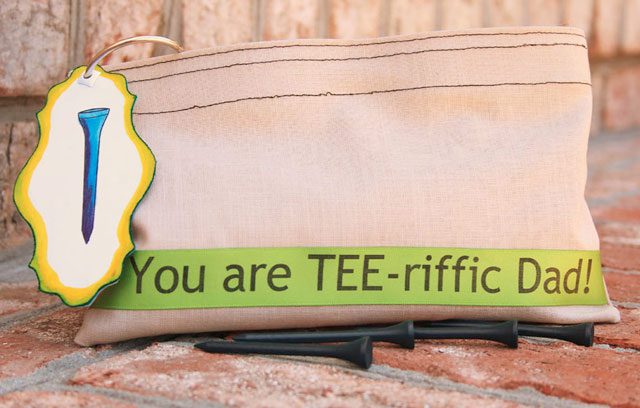 tee riffic - golf tee pouch