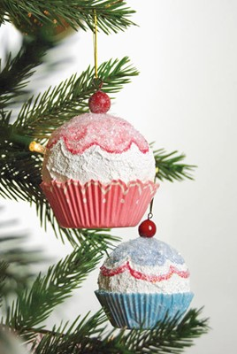 DIY Cupcake Ornaments for your Christmas tree