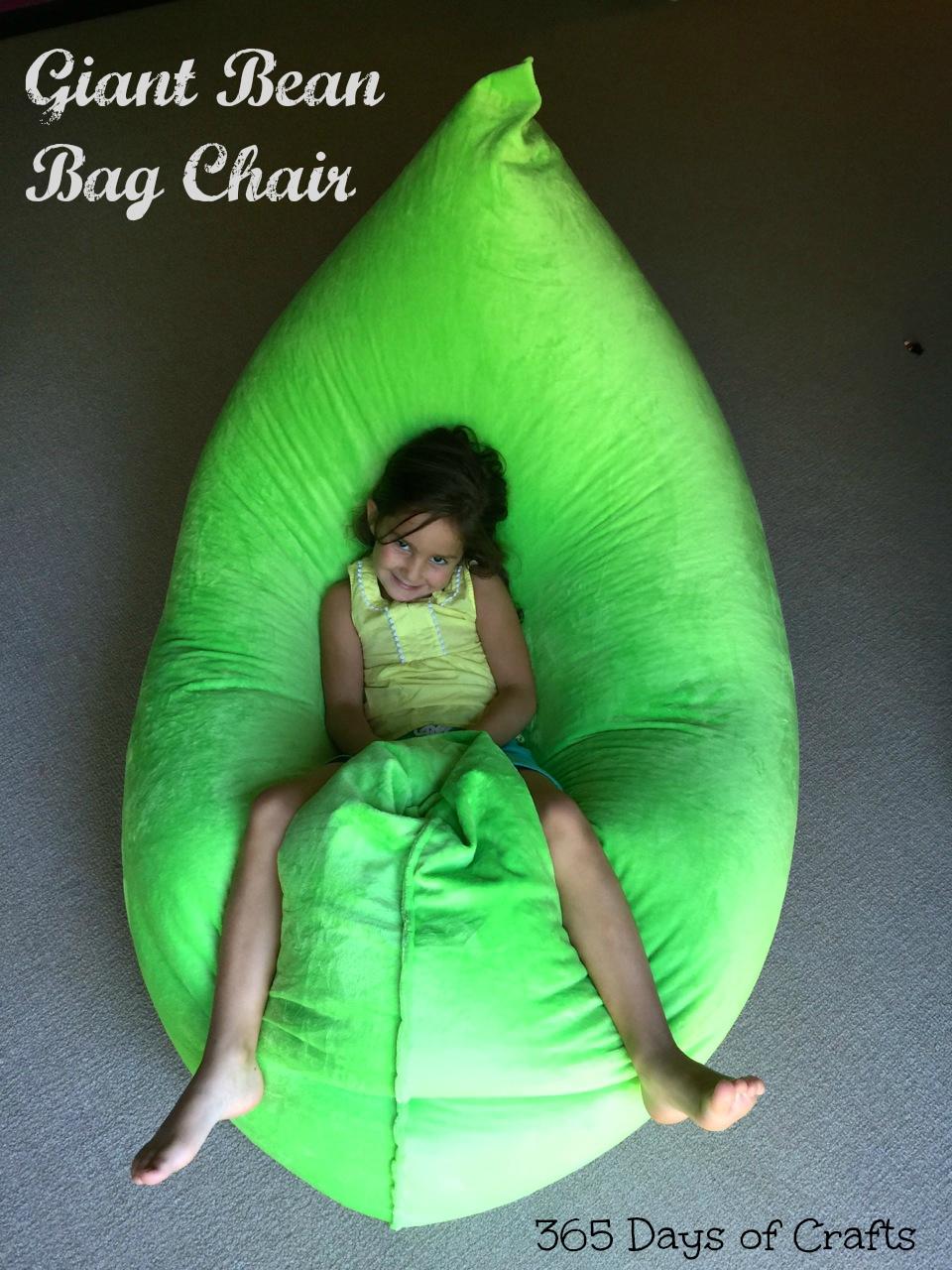 Giant Bean Bag Chair DIY