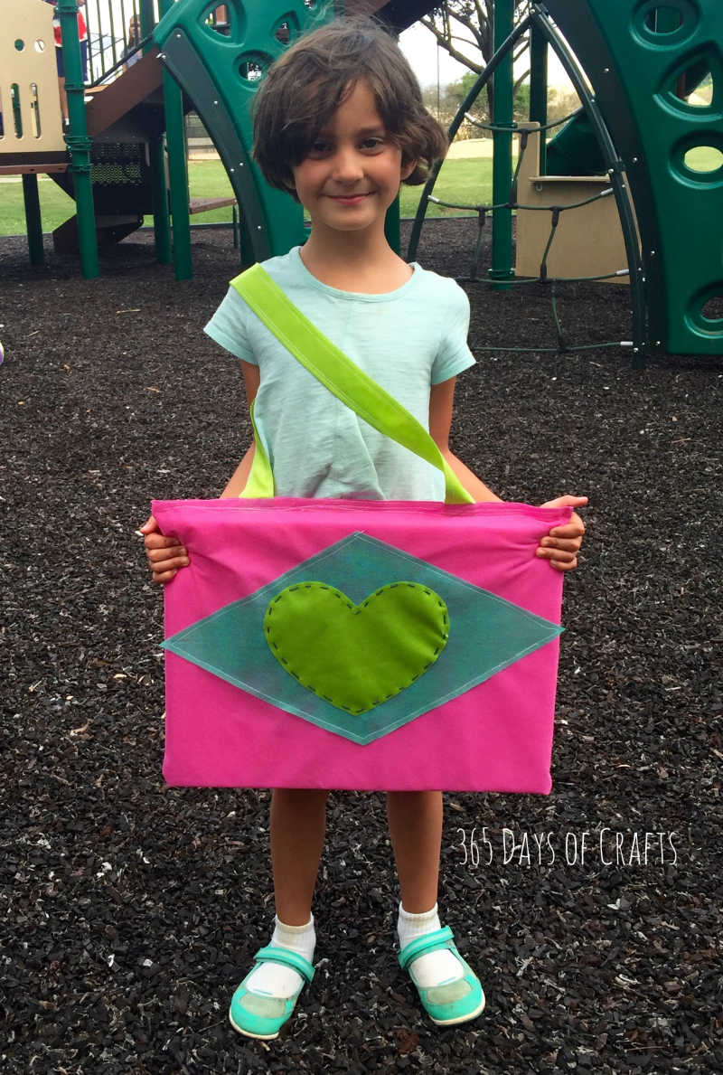Sit Upon - girl scout craft