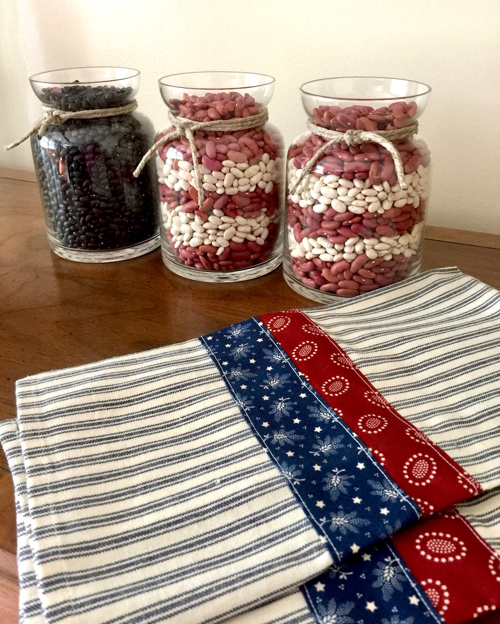 Superior I Also Made Super Fast Hand Towels For The Kitchen To Go With The Americana  Style Decorations.