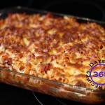 #4 – Cheesy Pepperoni Pizza Casserole Dish