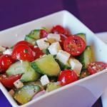#35 – Tomato Cucumber Salad
