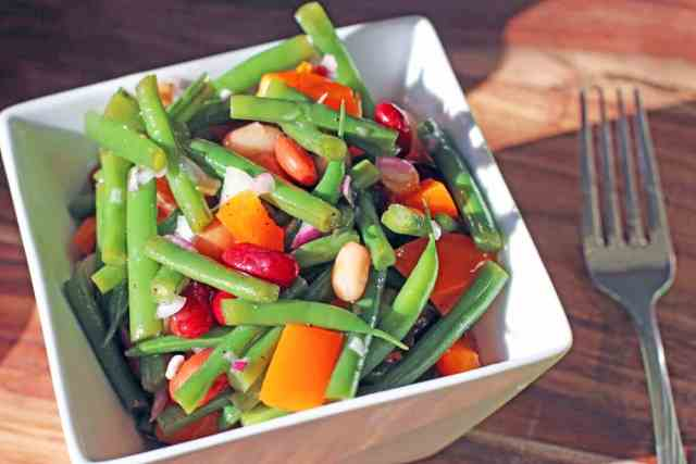 fresh bean salad recipe | 365 Days of Easy Recipes
