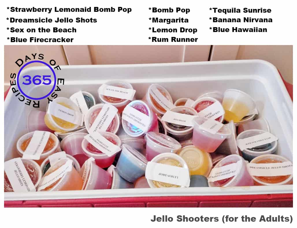 #58 - Jello Shooters