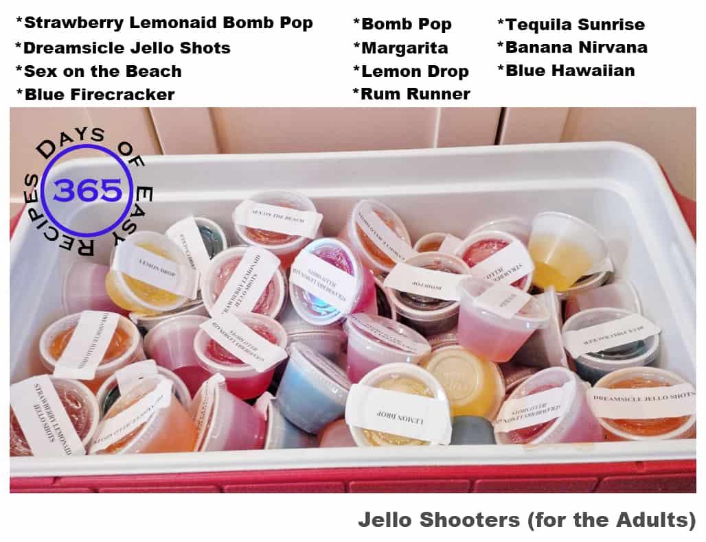 #58 - Jello Shooters