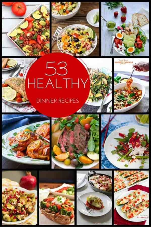 50 Healthy Dinner Recipes