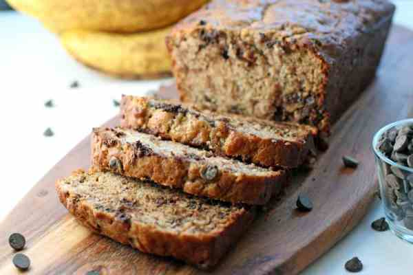 My grandmother's classic Homemade Chocolate Chip Banana Bread with her secret ingredient | 365 Days of Easy Recipes