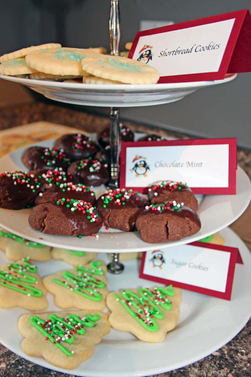plan a christmas cookie party in 7 easy steps 365 days of easy recipes - Christmas Easy Recipes