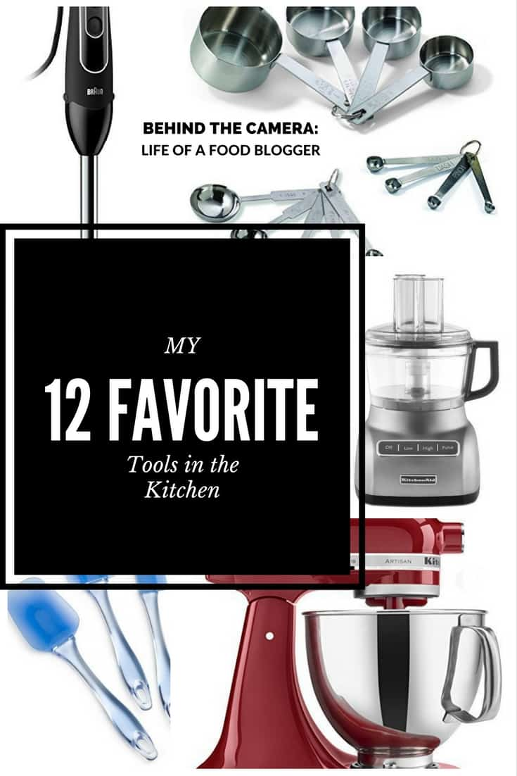 Food Blogger: My 12 Favourite Tools in the Kitchen
