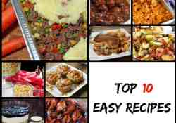 Top 10 Easy Recipes from this year | 365 Days of Easy Recipes