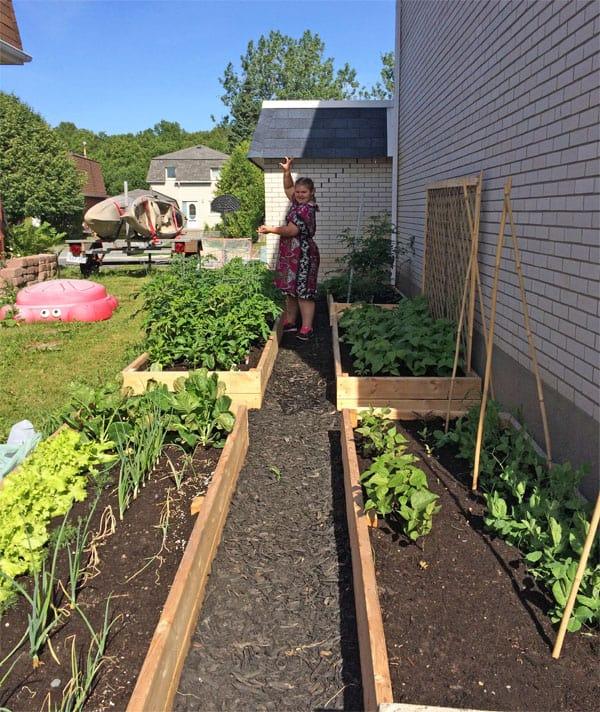 DIY garden boxes | 365 Days of Easy Recipes