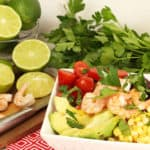 Lime Shrimp Avocado Quinoa Salad