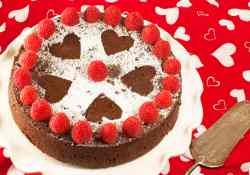 The perfect Valentine's Day Dessert Flourless Chocolate Cake for the special someone | 365 Days of Easy Recipes