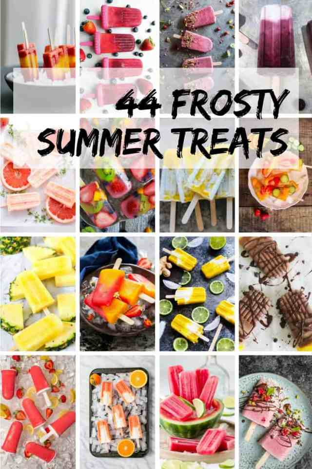 44 Frosty Summer Treats family friendly and even a few for the adults