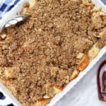 Apple Crumble Pie Baked French Toast