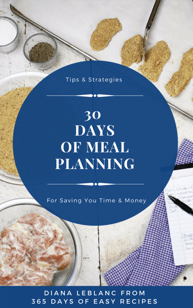 30 Days of Meal Planning: Tips & Strategies for Saving you Time & Money