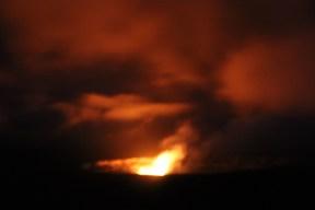 Halema`uma`u Crater at Night 7