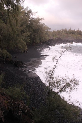Kehena Black Sand Beach 7