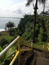 Stairs to Honoli'i Beach Park