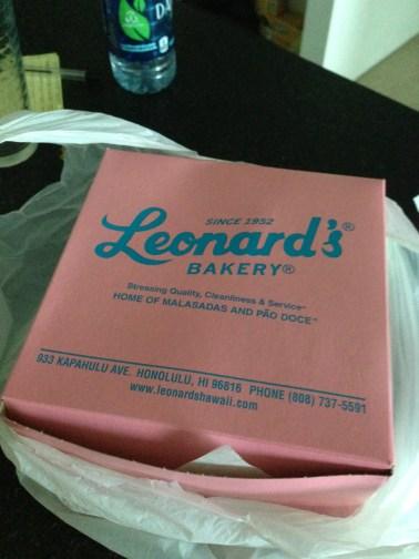 The amazingness from Leonard's Bakery.