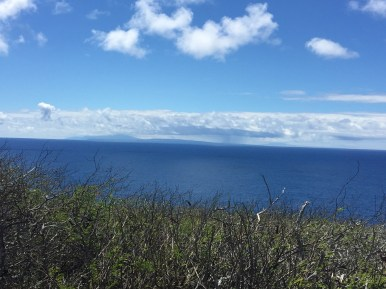 All three islands! Maui, Molokai and Lanai.