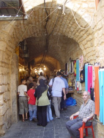 087 The old Town area of Saida