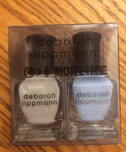 Deborah Lippmann Duo Polish in Blue Orchid and Like a Virgin $19