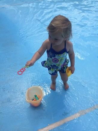 Wading Pool Fun!