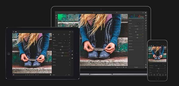 Lightroom to modify photos