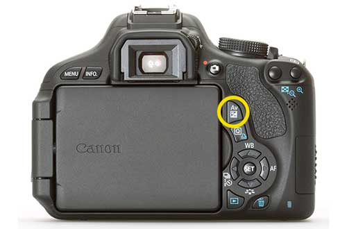 offset exposure in canon
