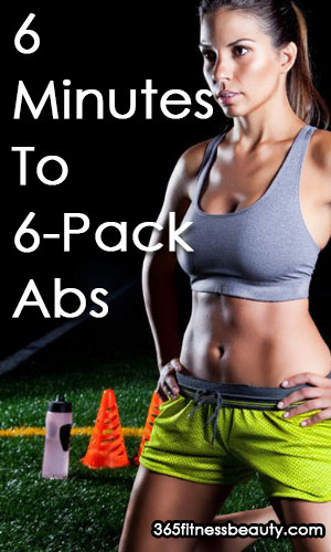 6 Minutes To 6-Pack Abs - 6 Best Ab Exercises For Women