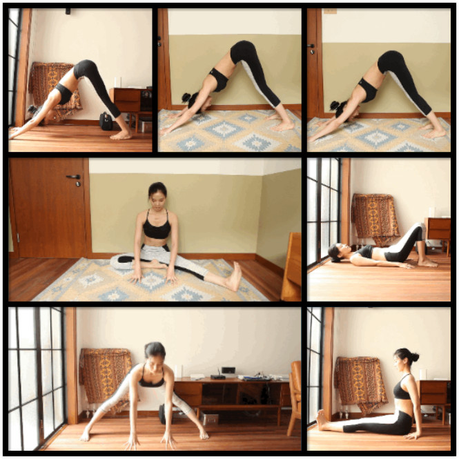5-minute Yoga Exercises To Get Tight Legs