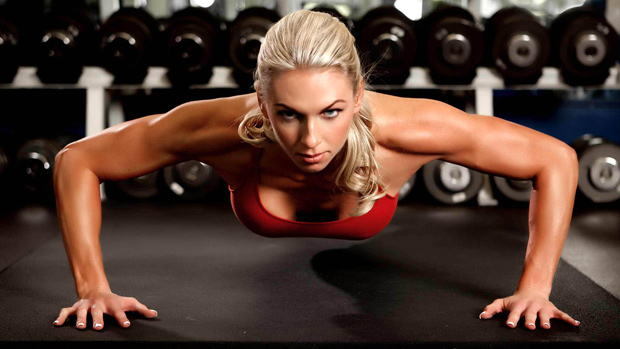 Arm Workouts For Women Attacking Arm Flab Pushups